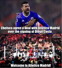 Diego Costa Meme - troll football diego costa will join atletico madrid in