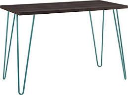 altra owen retro coffee table altra owen retro desk espresso teal amazon ca home kitchen