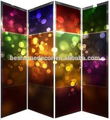 christmas decorative canvas screen picture frame room divider