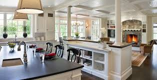open concept kitchen living room designs traditional open concept kitchen living room design ideas and