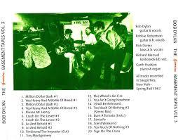 Complete Basement Tapes Bootleg Cd Artwork