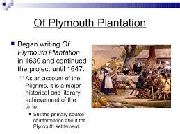 history of plymouth plantation by william bradford william bradford 1