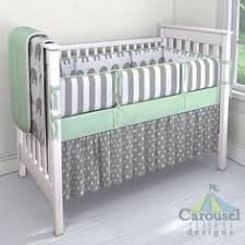 Grey And Green Crib Bedding Interior Custom Crib Bedding Graceful Design Your Own Baby 4