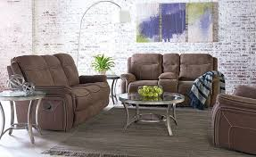 Reclining Living Room Sets Champion Brown Reclining Living Room Set From Standard Furniture