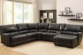 sofa leather reclining sectional sofa terrifying reclining
