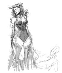 reilly brown shares his initial design sketches for mrs deadpool