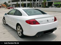 peugeot singapore buy used peugeot 407 coupe auto car in singapore 43 800 search