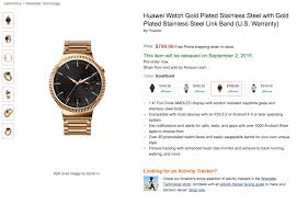 huawei watch black friday amazon android wear could gain ios support soon