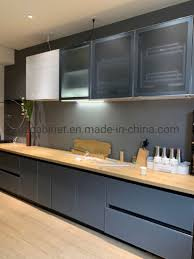 frosted glass kitchen cabinet doors modern clean frosted aluminum glass doors kitchen cabinets