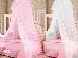Canopy Bed Curtains For Girls Bed Canopy Canopied Cozy Bed Space With Lights Hearts Triplet