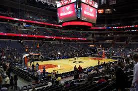 Verizon Center Washington Dc Map by Capital One Arena Section 109 Washington Wizards Rateyourseats Com