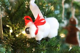 sheep ornament i can teach my child