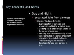 key concepts and words important words to help us understand the