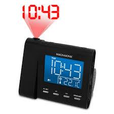 Bulova Valeria Mantel Clock Clock Modern Projection Alarm Clock Design Ceiling Projection