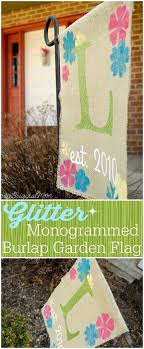 make your yard pop with these 20 diy garden flags cool crafts
