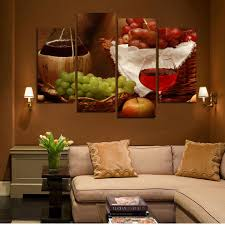 aliexpress com buy canvas painting 4 piece canvas art wine