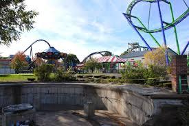 Six Flags Friends 2018 Neuheit Harley Quinn Spinsanity Giant Discovery Six