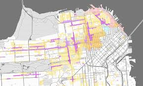 San Francisco Street Parking Map by City Pushes Plan For More Density Affordability Across Sf