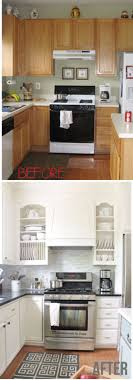 kitchen makeover ideas diy small kitchen makeover ideas imposing remodel before and after