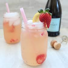 lemon berry prosecco sangria