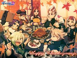 azure striker gunvolt 2 official thanksgiving wallpaper