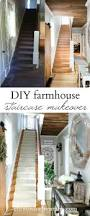 victorian farmhouse style hallway makeover new stair runner staircase makeover