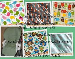 Baby High Chair Cover Lisa U0027s Covers For Kids By Lisascoversforkids On Etsy