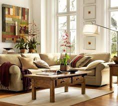 Elegant And Cozy Interior Designs By Pottery Barn Living - Pottery barn family rooms