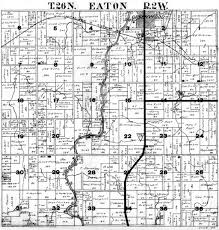Plat Maps Eaton Township Clark County Plat Map Project