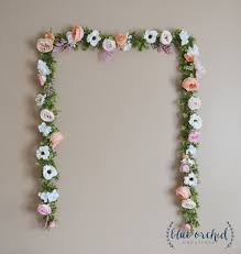 wedding backdrop garland wedding garland wedding backdrop flower garland flower