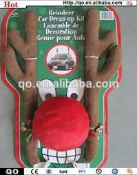 Christmas Reindeer Car Decorations by High Quality Christmas Car Decoration Reindeer Antlers And Nose