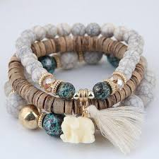 beads charm bracelet images The stunning blossom bracelet wooden beads charm bracelet set jpg