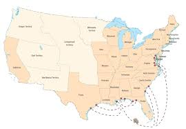 Louisiana On The Map by Slave Manifests