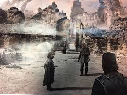 Wildfire Under King S Landing by Game Of Thrones Season 7 Concept Art Confirms Finale Scene