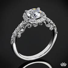 vintage wedding ring sets emily vintage cz wedding ring set