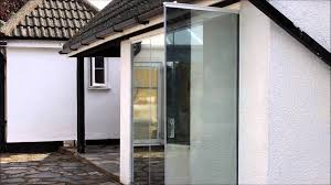 framless glass doors frameless glass doors with one way glass youtube