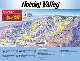 Ohio Valley Map by Trail Map Holiday Valley