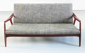 danish three seat sofa 1950s 65216