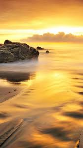 wallpaper iphone gold hd gold beach and sea iphone 6s wallpapers hd