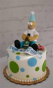 homer simpson birthday cake photo flickriver