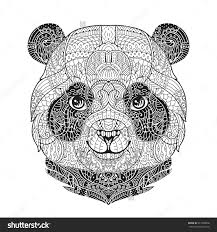 bradford exchange protect the wild sneakers on black friday amazon zen art panda animal portrait in zentangle style for the