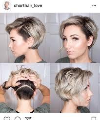 360 view of mens hair cut coupe été hair pinterest long pixie undercut and pixies