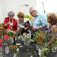 First Day Of Fair Blooms Bright For Judging Exhibits News The