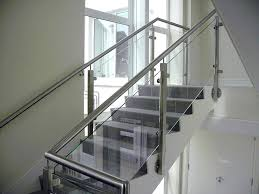 Stainless Steel Stairs Design Stairs Grill Design With Glass Complete Commercial Project