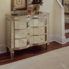 Bedroom Mirrored Furniture Mirrored 3 Drawer Chest Wayfair Moroccan Inspired Bedroom