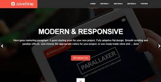 bootstrap themes free parallax 238 best bootstrap images on pinterest template website template