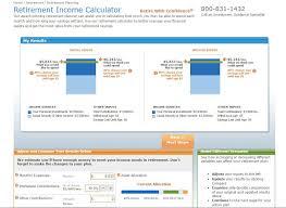 Retirement Expenses Worksheet Retirement Calculator Reviews