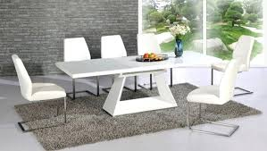 white dining room table seats 8 dining room table with 8 chairs hangrofficial com