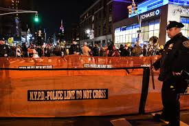 which side does st go on village halloween parade goes on despite deadly bike path attack