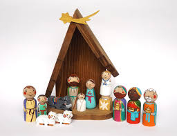 nativity sets etsy